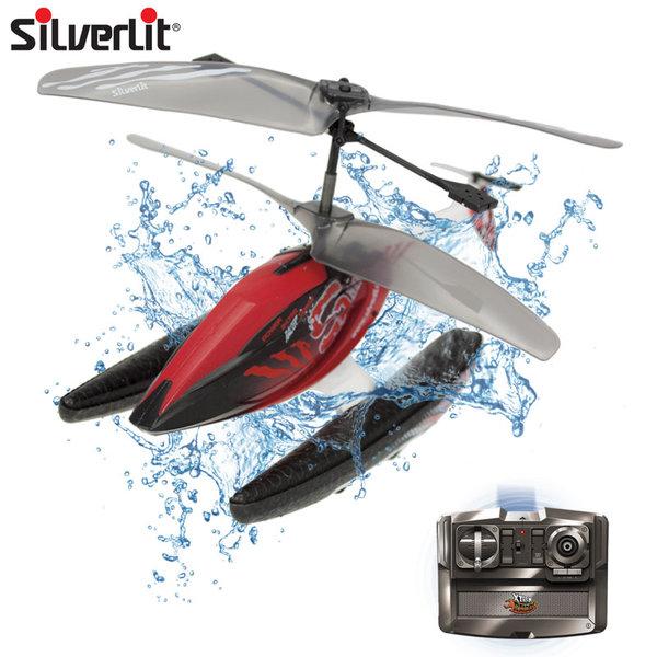 Silverlit - Хеликоптер с дистанционно управление Xtreme Raiders Hydrocopter 84758