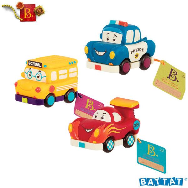 B.Toys - Мини колички Pull Back BX1657Z