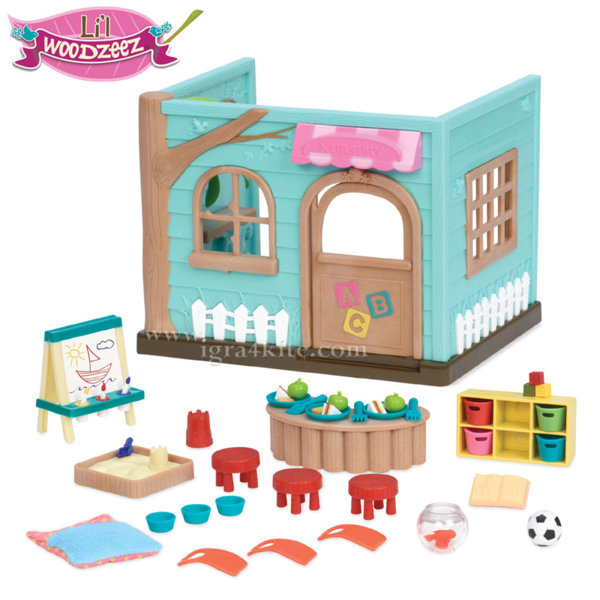 *Lil Woodzeez - Комплект за игра Детска ясла 6161
