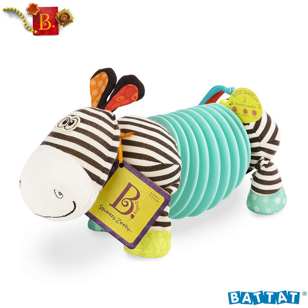 B.Toys - Бебешки акордеон Зебра BX1534GTZ
