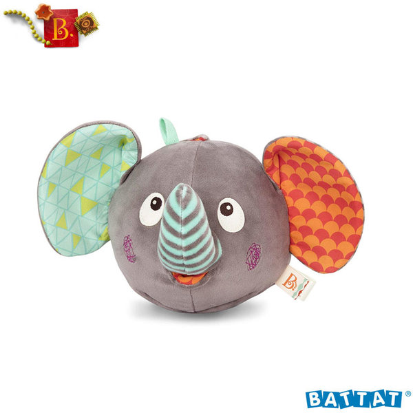 B.Toys - Плюшено музикално слонче Elephantabulous™ BX1588Z