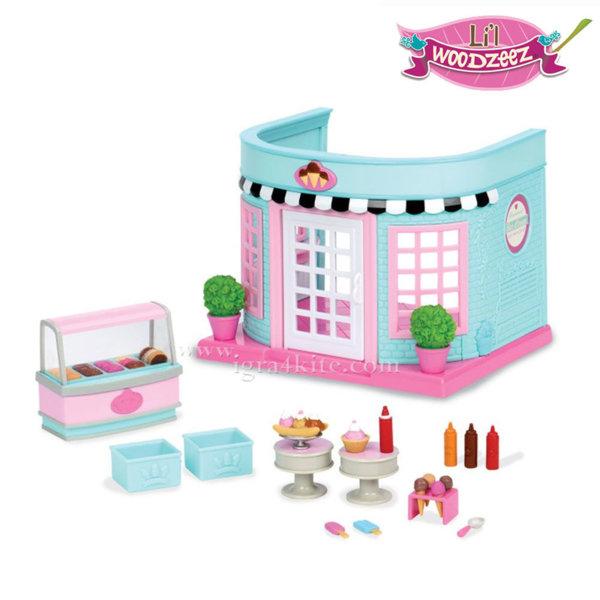*Lil Woodzeez - Комплект за игра Сладкарница за сладолед BT6162