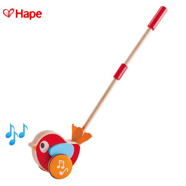 Hape - Дървена музикална играчка за бутане Лили H0353