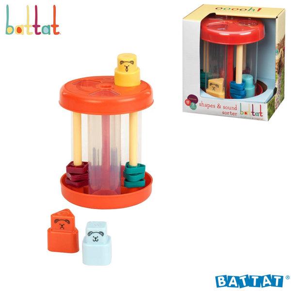 1Battat Toys - Играчка за сортиране със звук BT2406Z