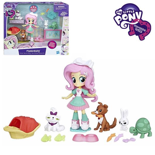 My Little Pony Equestria Girls Minis - Малкото пони СПА салонът за домашми любимци на Fluttershy B4910