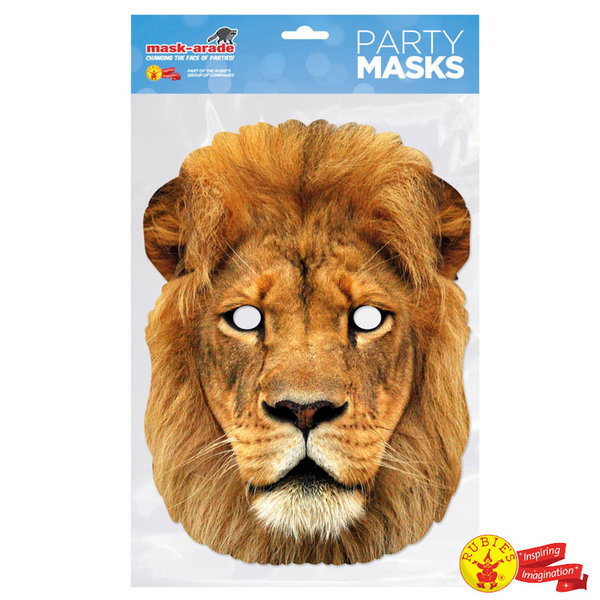 1Детска маска Лъв LION001