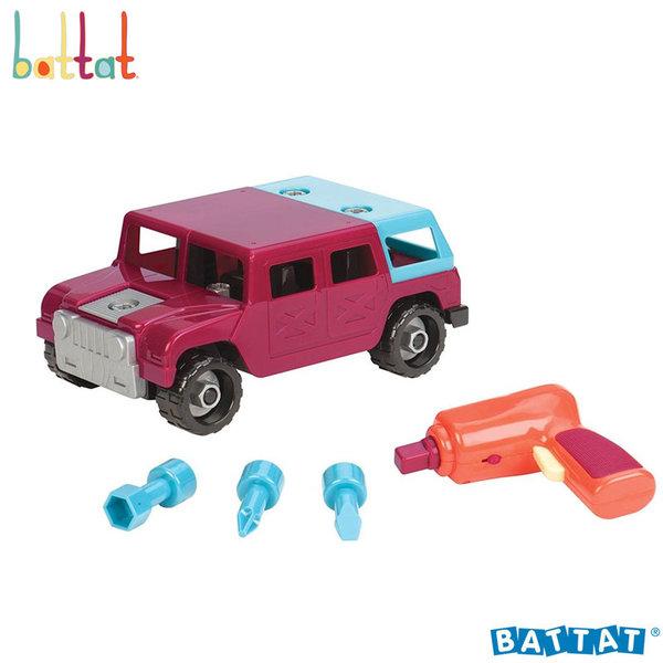 1Battat Toys - Разглобяем джип с електронна бормашина BT2455