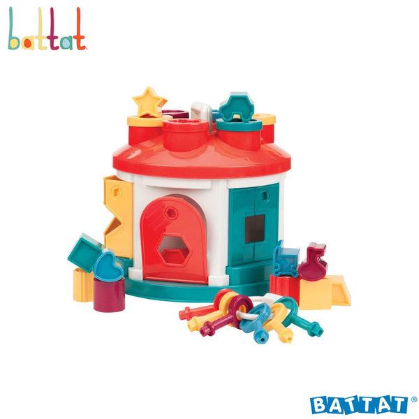 1Battat Toys - Къщичка за подреждане и сортиране BT2409Z