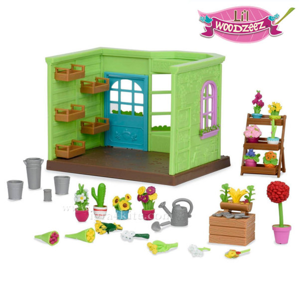 *Lil Woodzeez - Комплект за игра Магазин за цветя BT6164Z