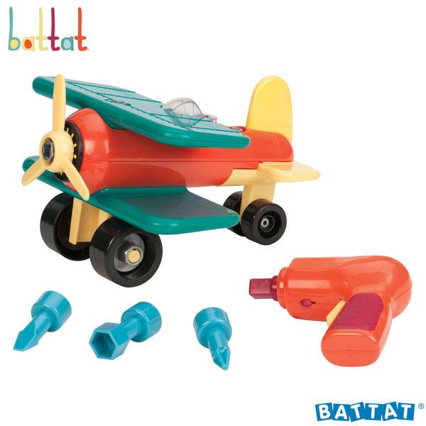 1Battat Toys - Разглобяем самолет с електронна бормашина BT2457Z