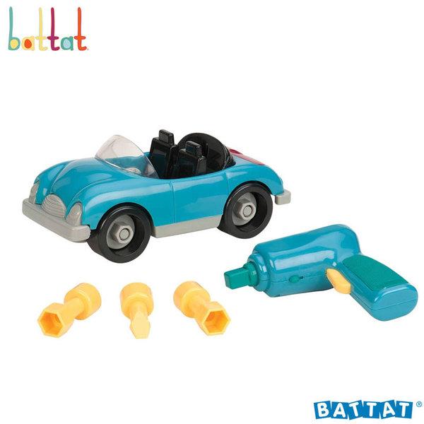 1Battat Toys - Разглобяем автомобил с електронна бормашина BT2459Z