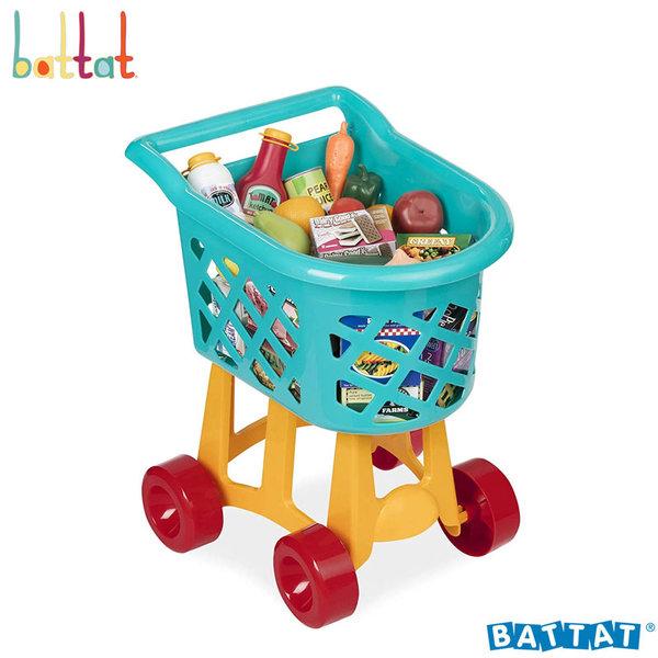 1Battat Toys - Пазарска количка с продукти BT2535Z