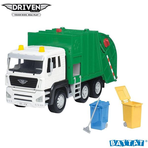1Driven - Детски боклукчийски камион със звук и светлина WH1003Z