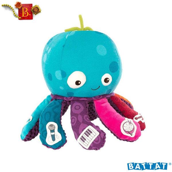 B.Toys - Плюшен музикален октопод BX1518Z