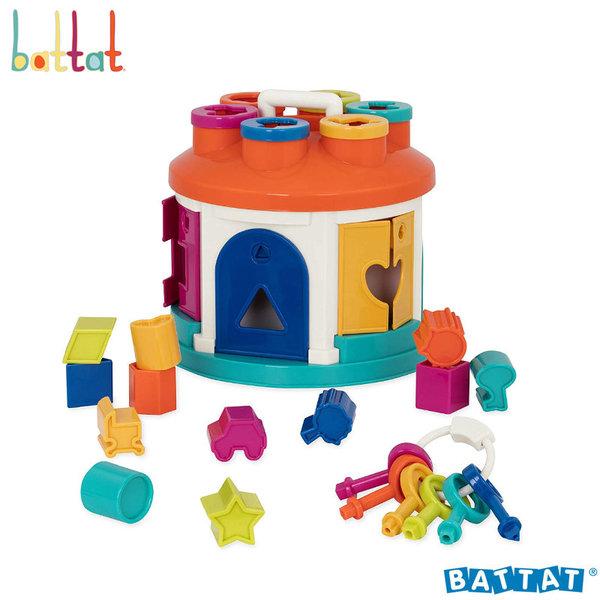 1Battat Toys - Къщичка за подреждане и сортиране BT2580Z