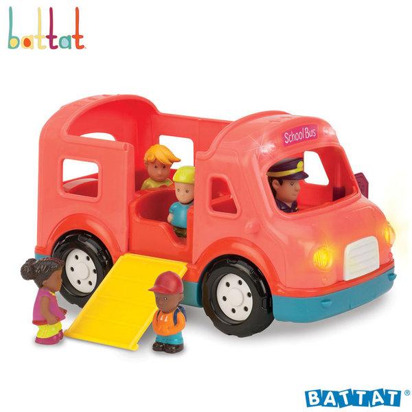 1Battat Toys - Училищен авобус със звук и светлина BT2448Z