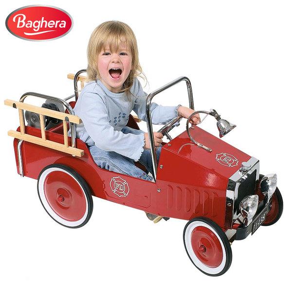 1Baghera - Метална пожарна кола с педали 14069