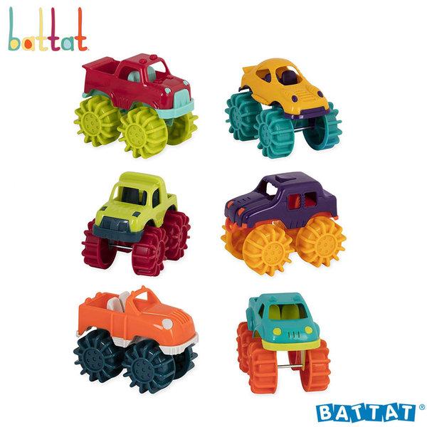 1Battat Toys - Малки колички чудовища BT2521Z