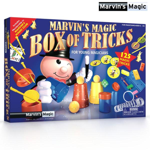 Marvins Magic - Магическата кутия с 125 фокуса MME001