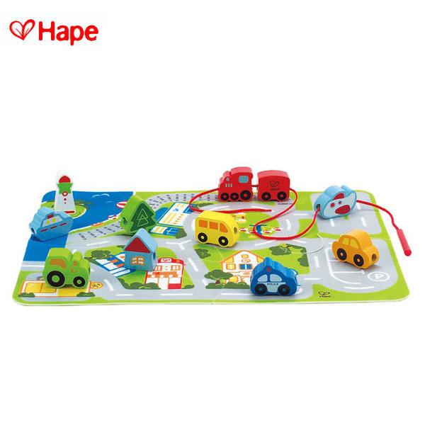 1Hape - Детска дървена игра град H1022
