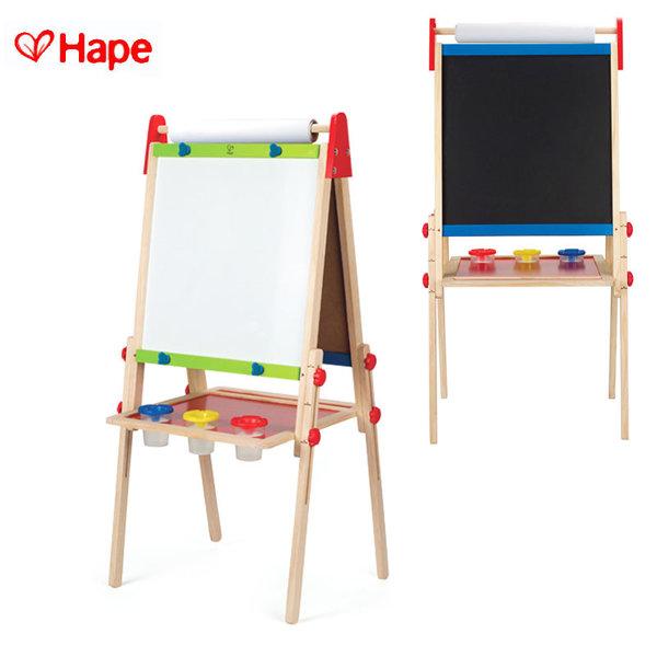 Hape Детска дървена двустранна дъска за рисуване H1010