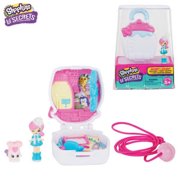 *Shopkins Lil Secrets -  Медальон с тайно шкафче Бебешки свят 56870