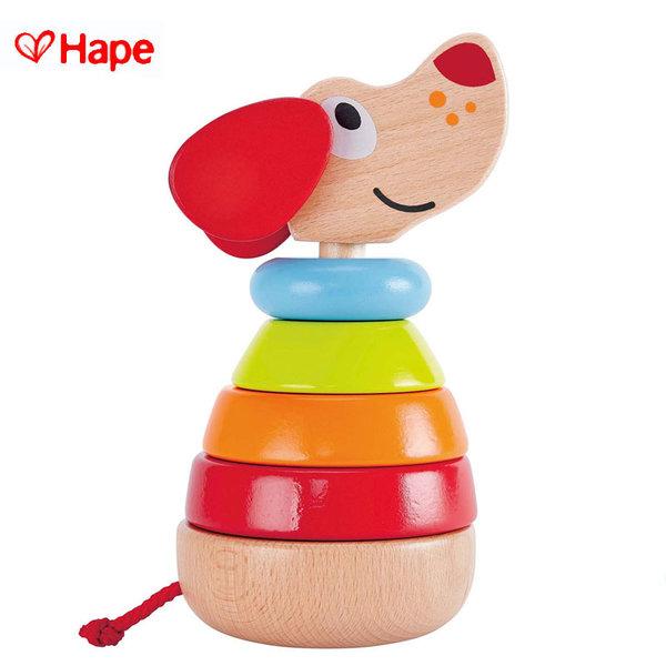 1Hape - Дървено музикално кученце за подреждане H0448