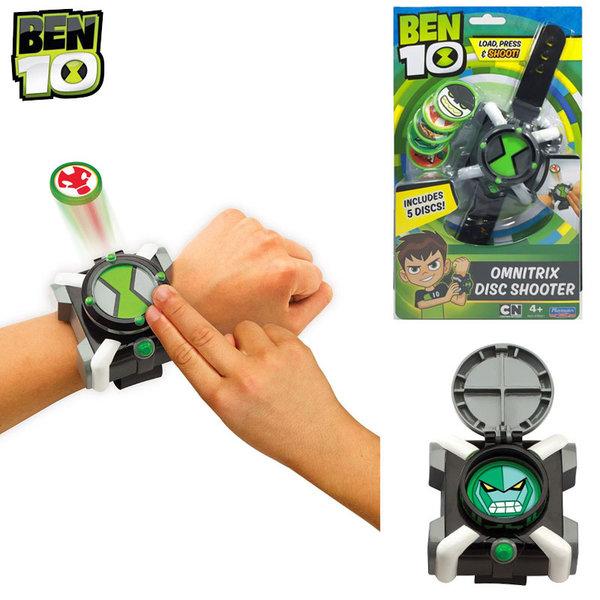 1Ben 10 - Часовник Бен Тен Omnitrix изстрелвачка на дискове 76921