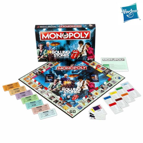 Hasbro Monopoly - Монополи Ролинг Стоунс WM32827