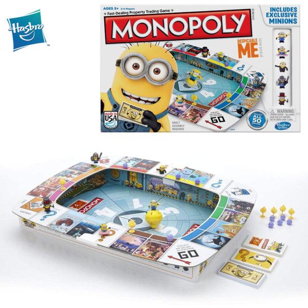 Hasbro Monopoly - Монополи Миньоните A2574