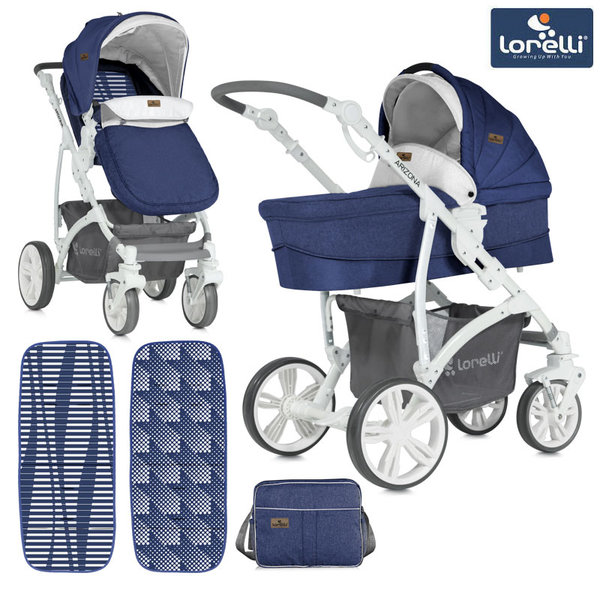 Lorelli - Комбинирана количка ARIZONA BLUE 10021021842
