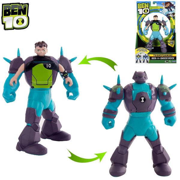 Ben10 - Трансформираща се фигура от Ben в Shock Rock 76690