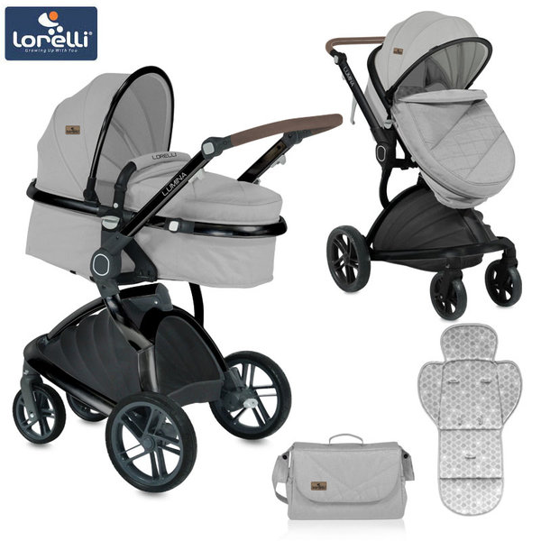 Lorelli - Детска количка LUMINA GREY 10021211864