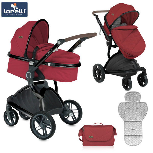 Lorelli - Детска количка LUMINA RED 10021211865