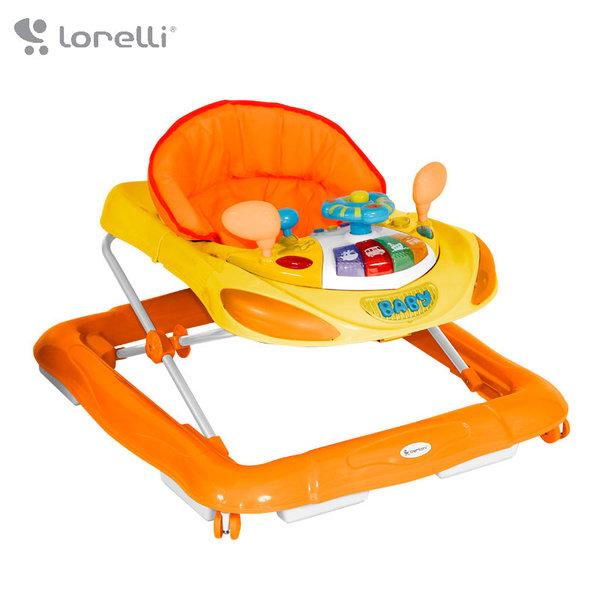 Lorelli - Бебешка проходилка W1224CE с евробаза Оранжвеа 10120220901