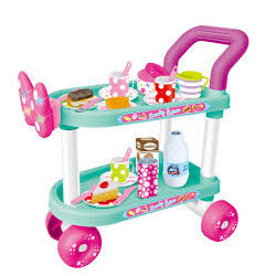 1Ocie - Детска количка за сервиране със звук и светлина OTE0638788