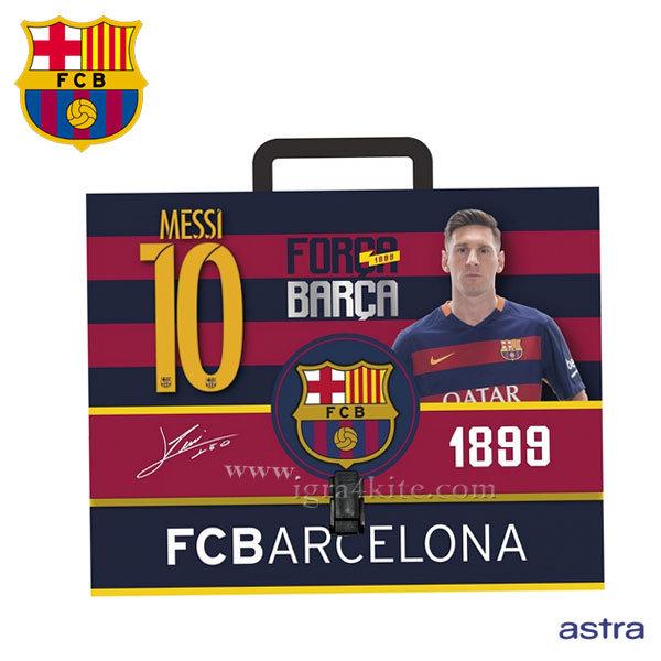 FC Barcelona 2016 - Куфарче от картон Барселона