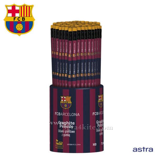 FC Barcelona 2016 - Ученически молив с гума HB Барселона