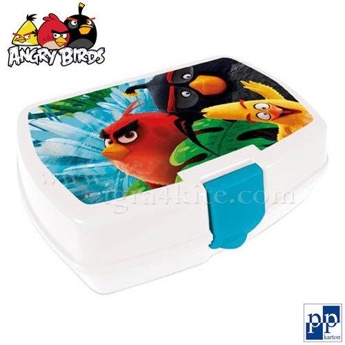 Karton P+P Angry Birds - Кутия за храна Енгри бърдс 3-352