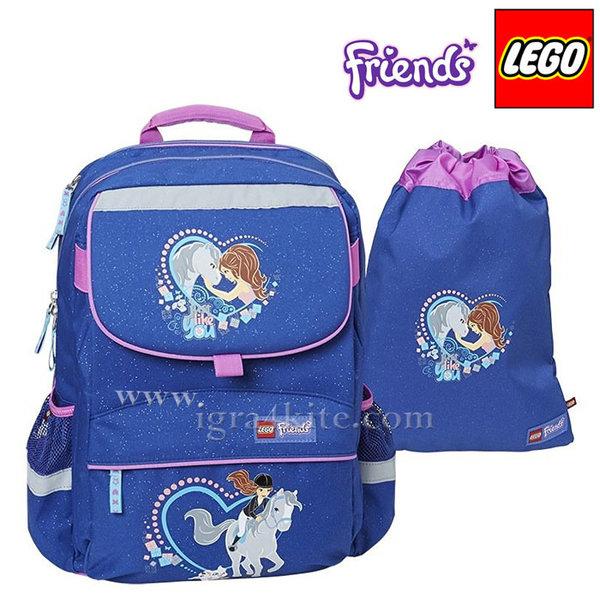 Lego Starter Plus - Ергономична ученическа раница Friends Horse 15114