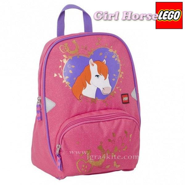 Lego Small - Раница за детска градина Girl Horse 12104