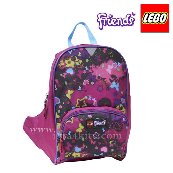 Lego Small - Раница за детска градина Friends Raspberry 14425