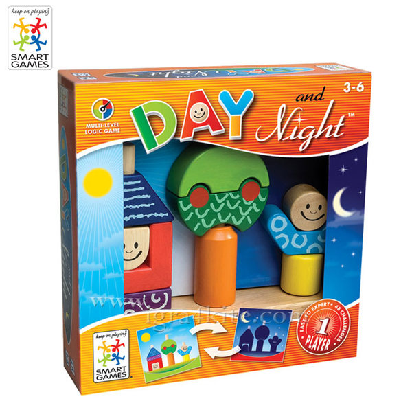 Smart Games - Игра Ден и Нощ 3+ SG013/SG033