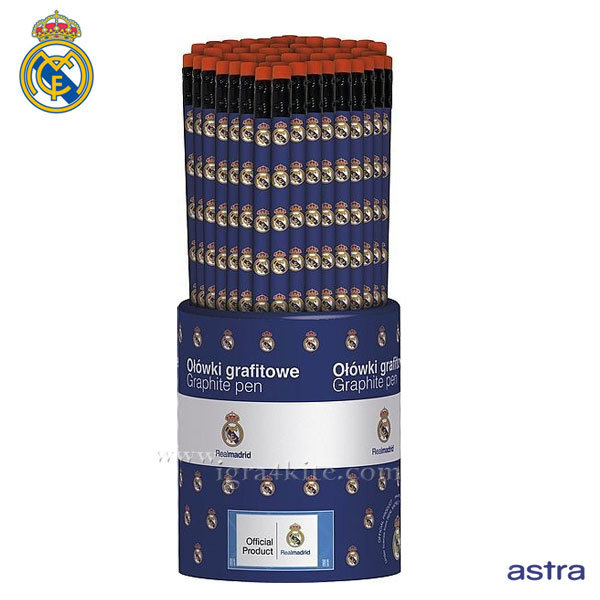 Real Madrid 2016 - Ученически молив с гума HB Реал Мадрид