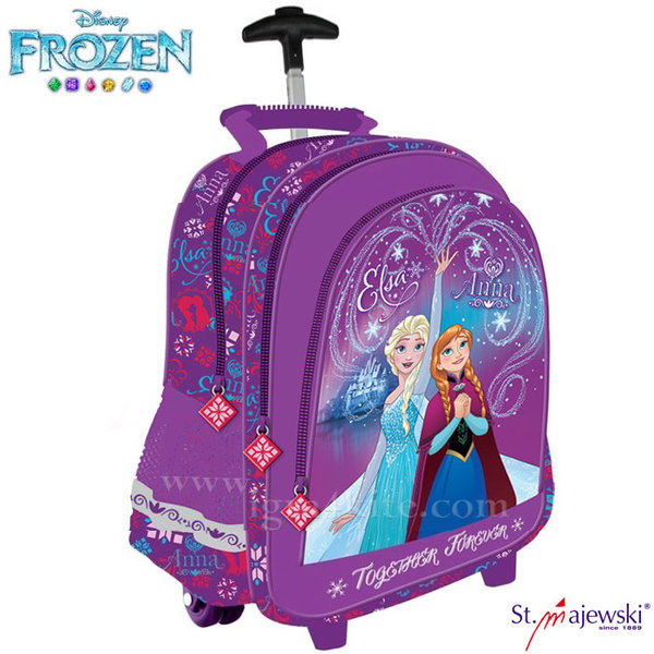 Disney Frozen - Ученическа раница тролей Замръзналото кралство 50657