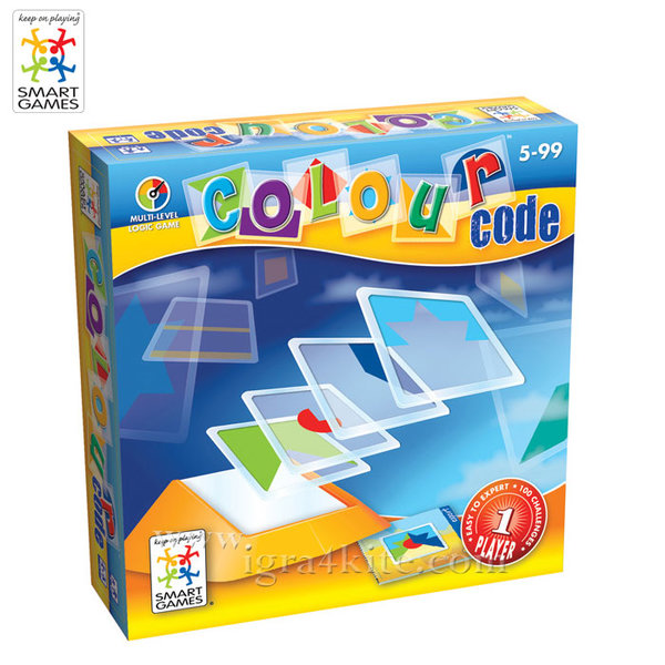 Smart Games - Игра Цветен код 090 5+