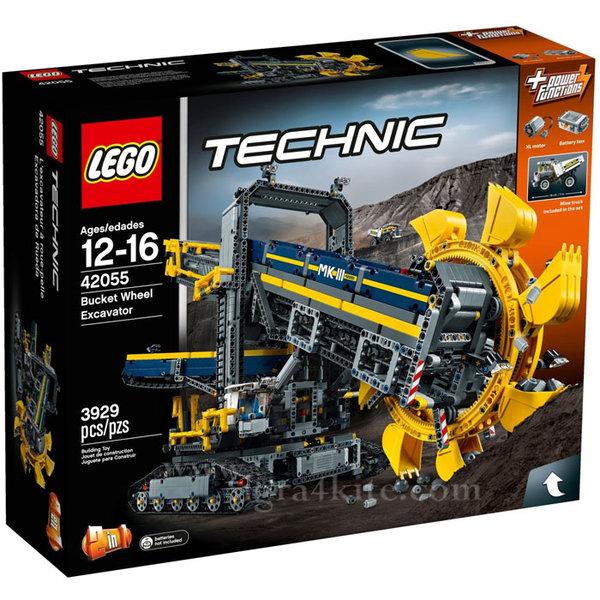 Lego 42055 Technic - Роторен екскаватор