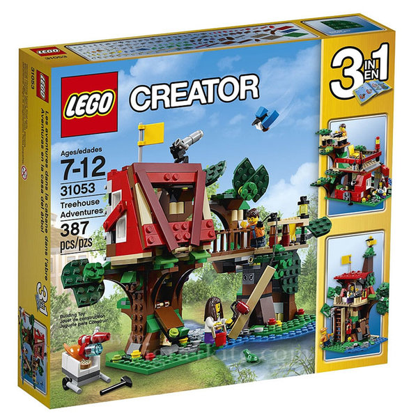 Lego 31053 Creator - Приключения в дървесната къща