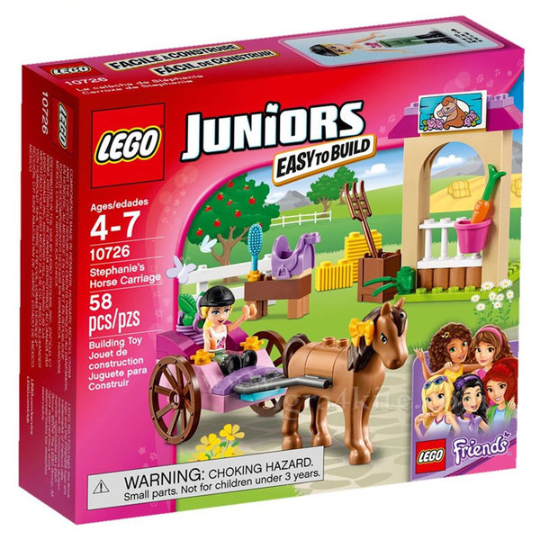 Lego 10726 Juniors Friends - Конната каляска на Стефани