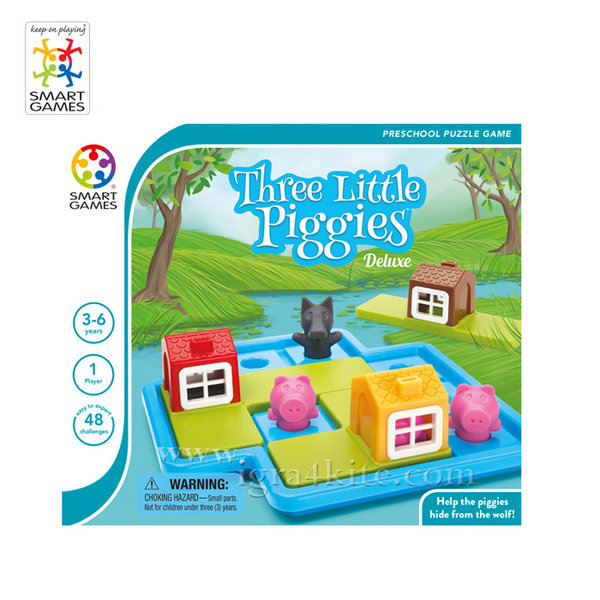 Smart Games - Игра Трите малки прасенца SG023 3+